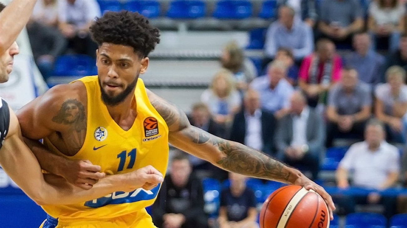 Tyler Dorsey - Maccabi FOX Tel Aviv in preseason (photo Maccabi) - EB19