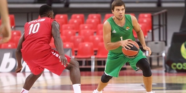 EuroCup preseason: UNICS holds off Olympiacos in Piraeus