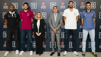 DAZN presents exclusive EuroLeague, EuroCup broadcasts in Spain