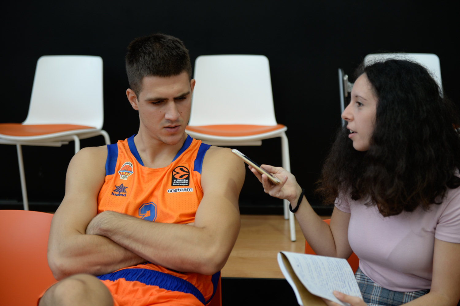 Vanja Marinkovic - Valencia Basket Media Day 2019 - EB19