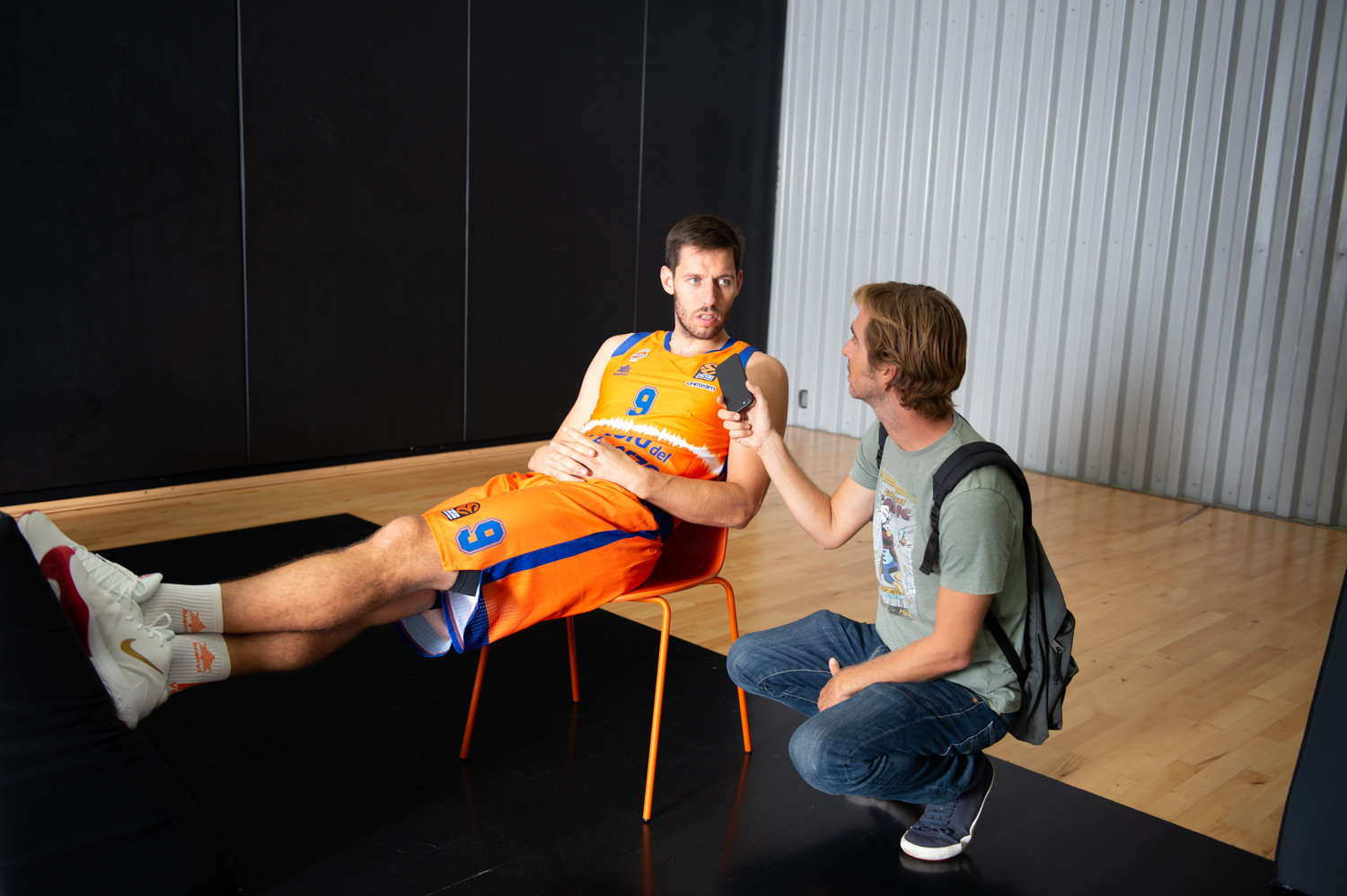 Sam Van Rossom - Valencia Basket Media Day 2019 - EB19