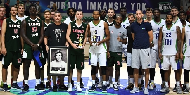EuroCup preseason: Lokomotiv tops Tofas for tourney title