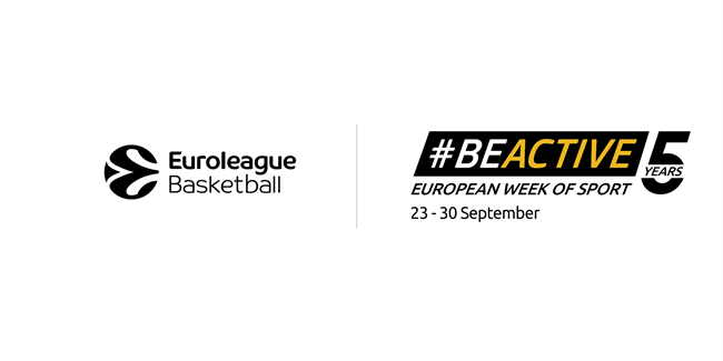 Euroleague Basketball celebrates fifth annual European Week of Sport!