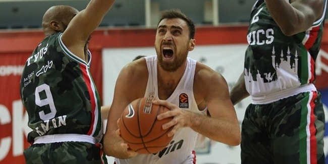 Preseason: CSKA, Olympiacos get wins at Gomelskiy Cup