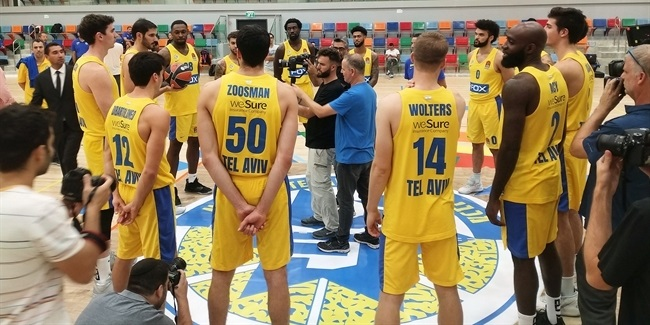 2019 Media Day Live: Maccabi FOX Tel Aviv