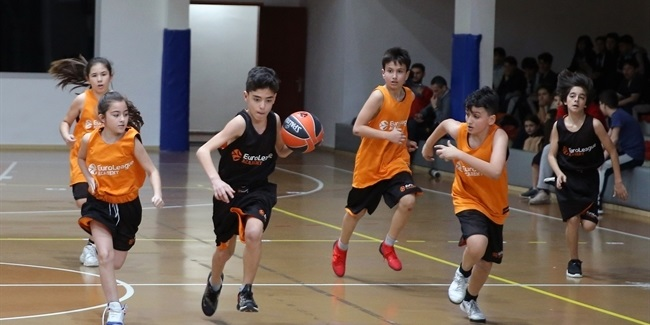 EuroLeague Academy supports European School Sport Day