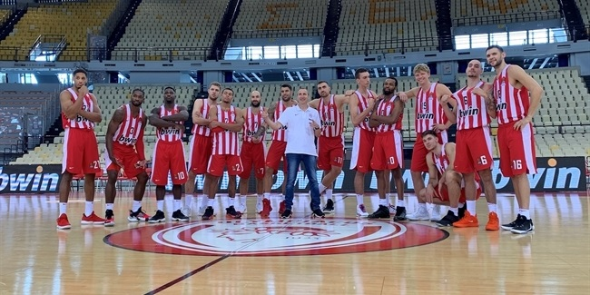2019 Media Day Live: Olympiacos Piraeus