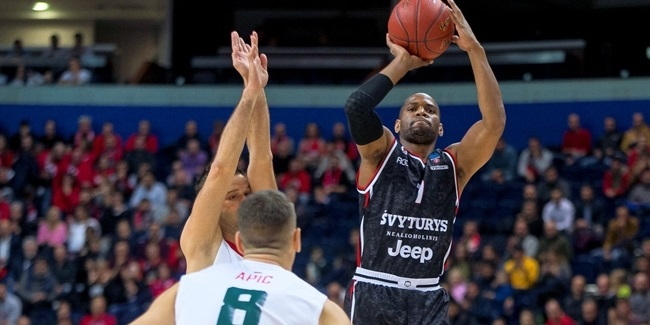 7DAYS EuroCup, Regular Season Round 1: Rytas Vilnius vs. Lokomotiv Kuban Krasnodar