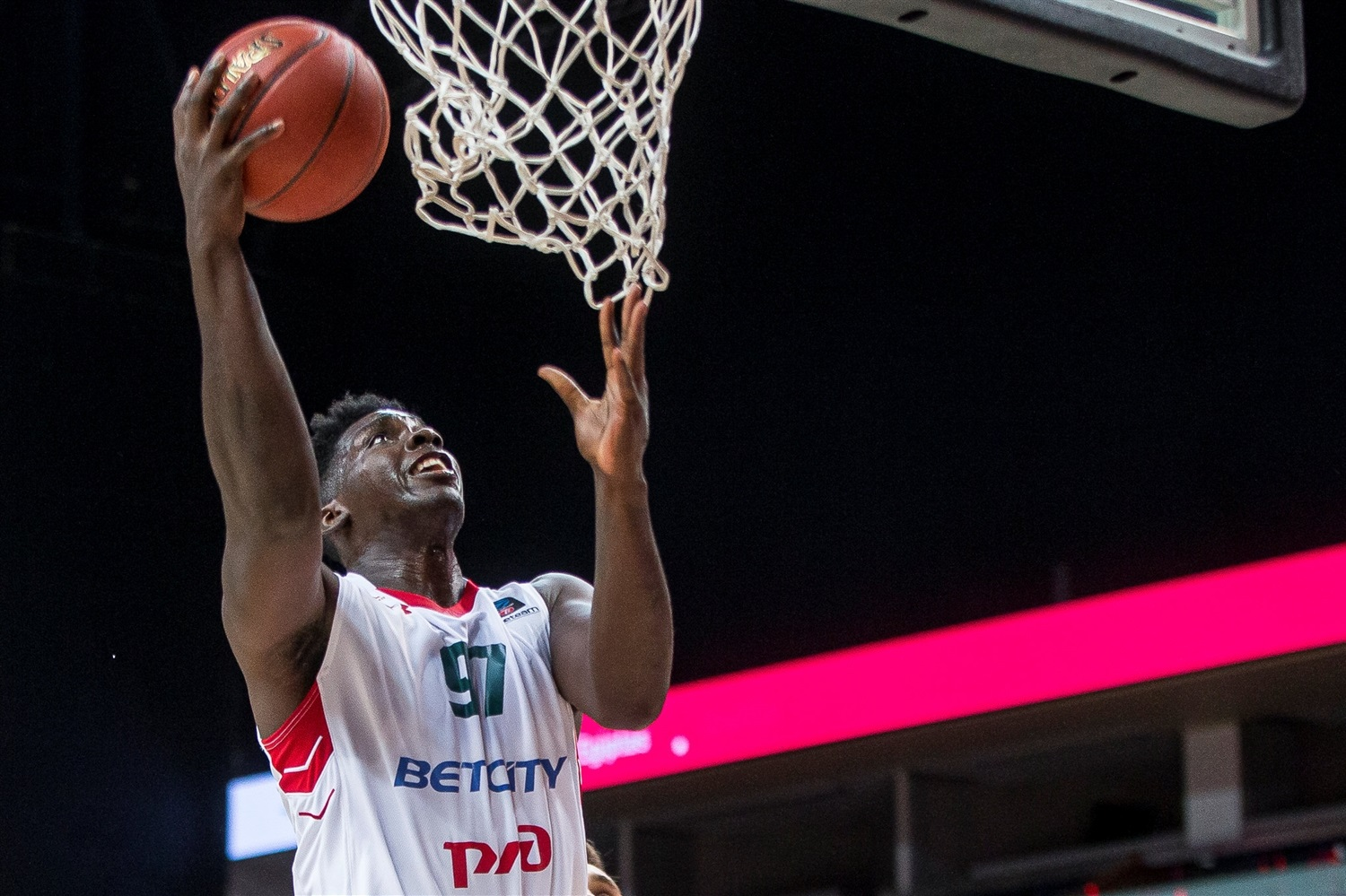 Johnny OBryant - Lokomotiv Kuban Krasnodar (photo Rytas) - EC19