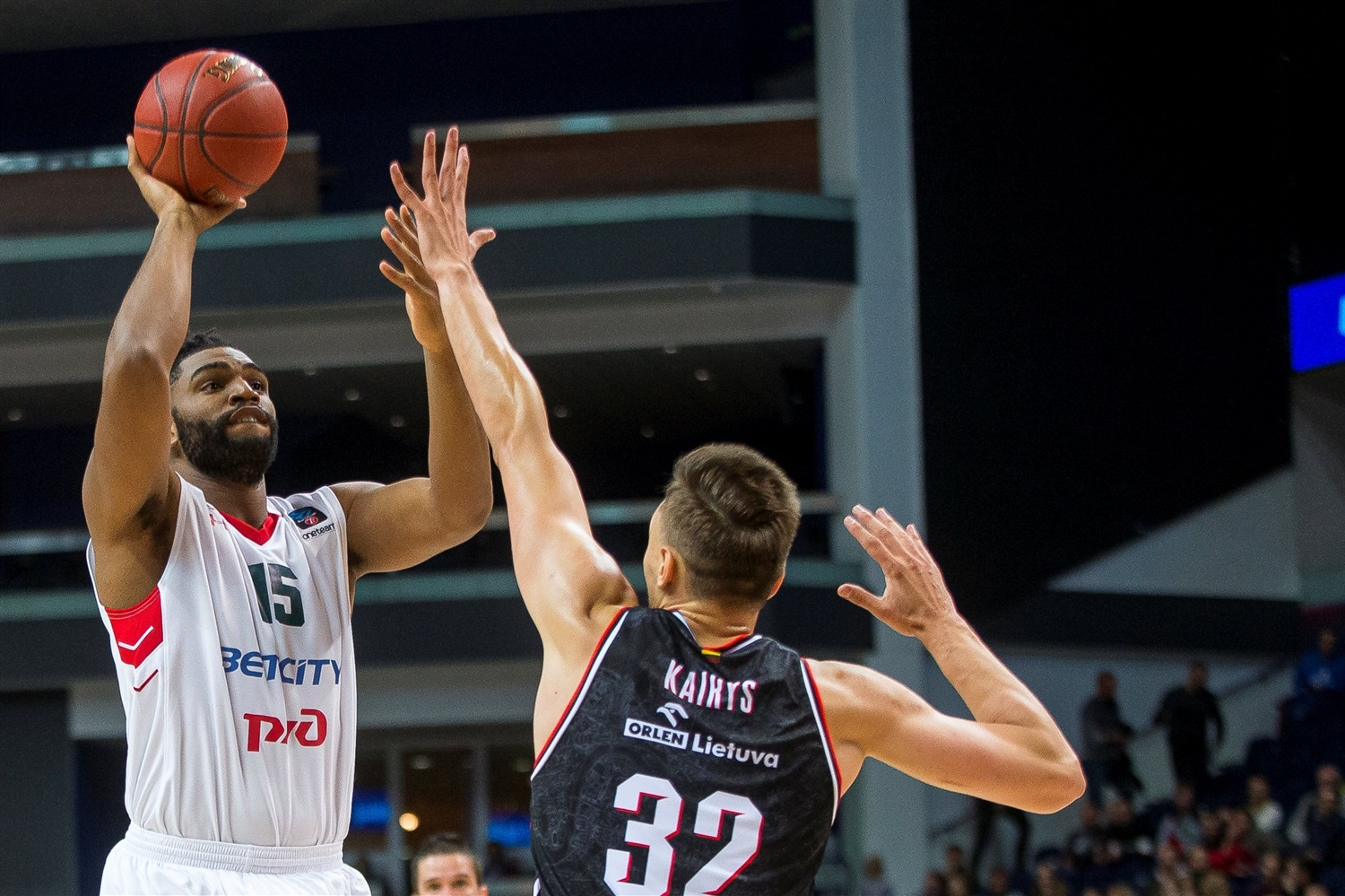 Alan Williams - Lokomotiv Kuban Krasnodar (photo Rytas) - EC19