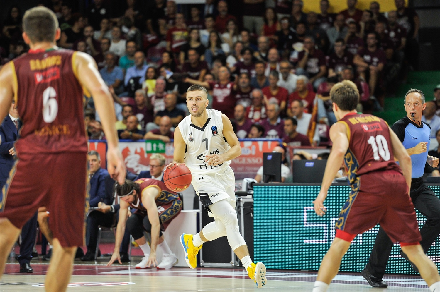 Nemanja Gordic - Partizan NIS Belgrade (photo Reyer Venice) - EC19