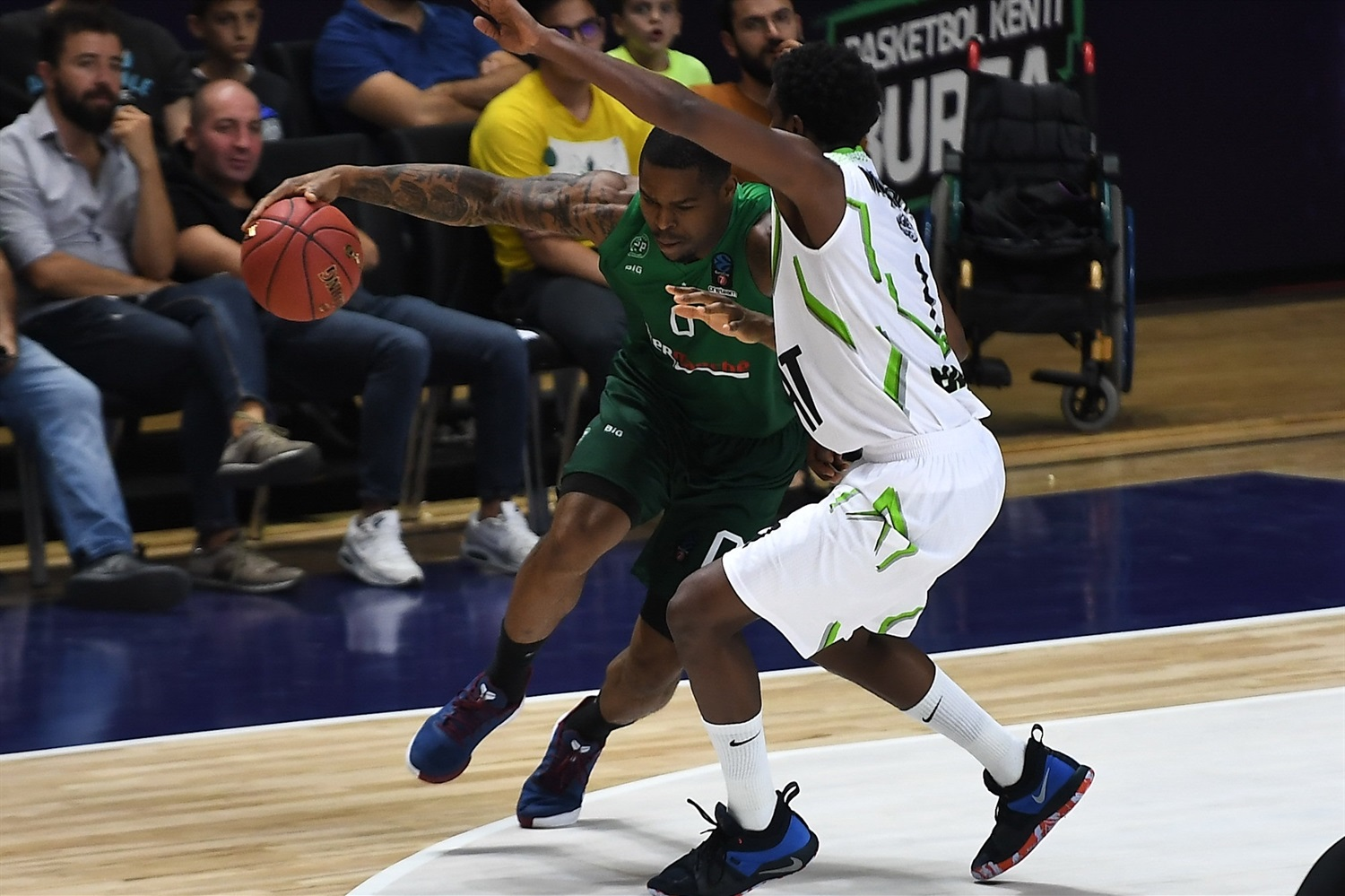Benoit Mbala - Limoges CSP (photo Tofas) - EC19
