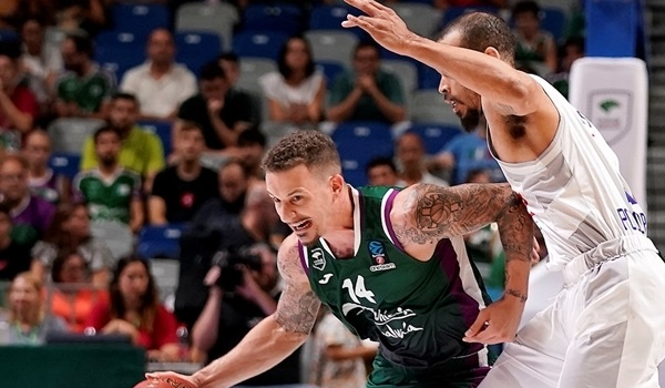 RS01 Report: Adams leads Unicaja to first win in Group D