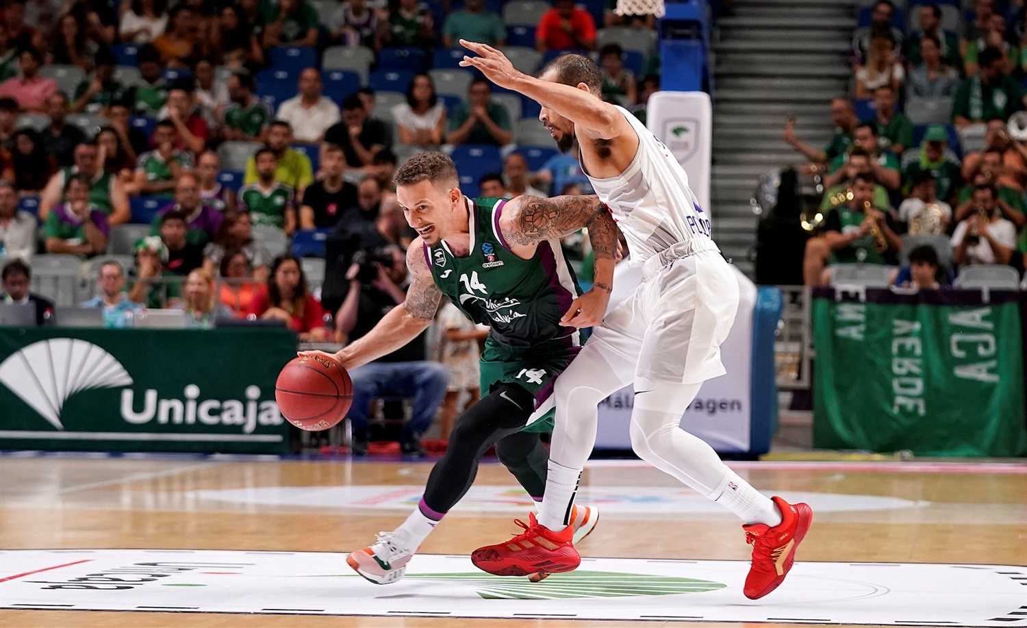 Josh Adams - Unicaja Malaga (photo Unicaja) - EC19