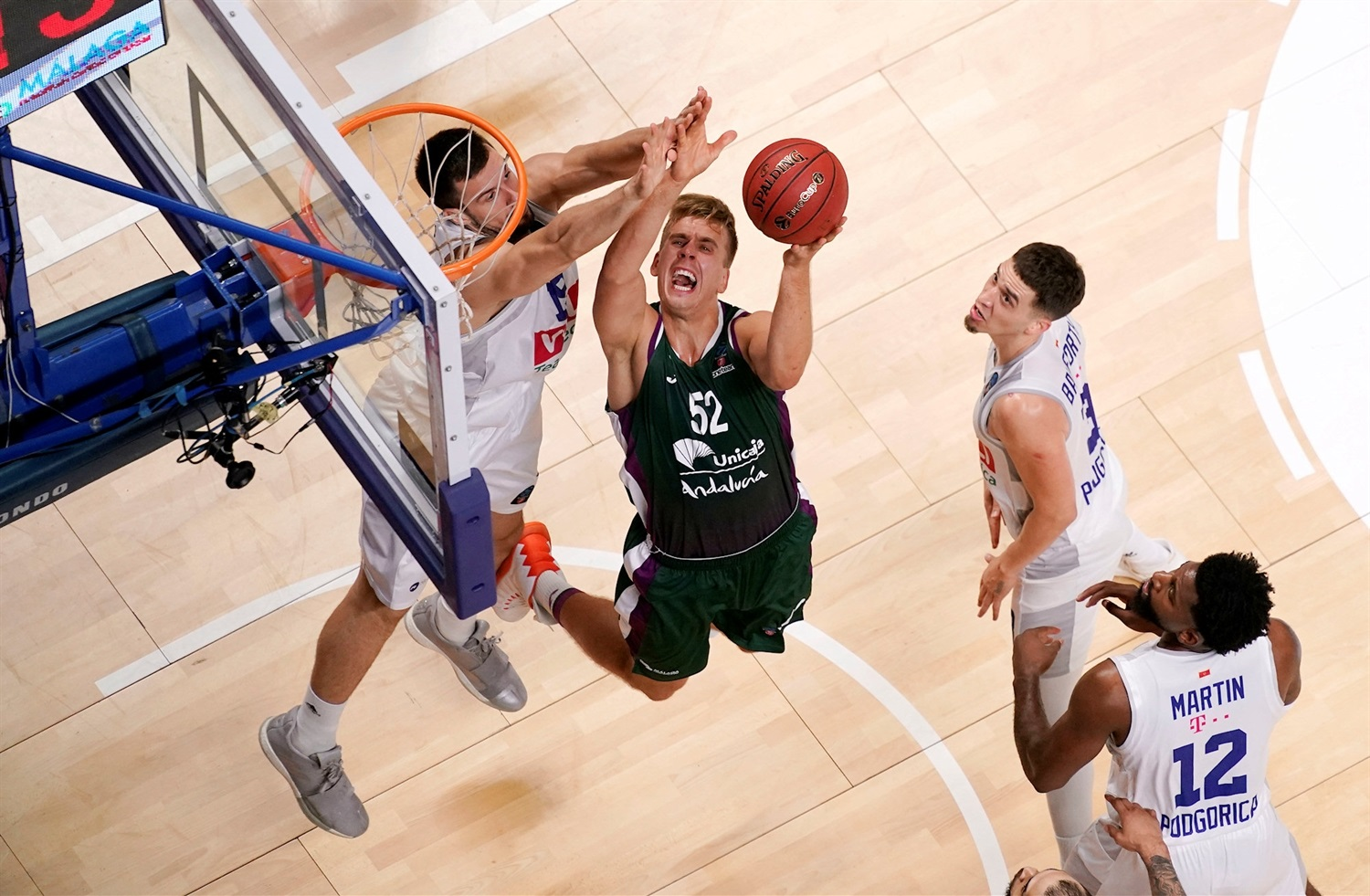 Volodymyr Herun - Unicaja Malaga (photo Unicaja) - EC19