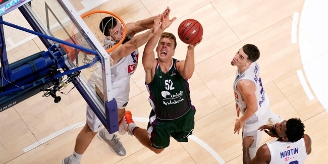 7DAYS EuroCup, Regular Season Round 1: Unicaja Malaga vs. Buducnost VOLI Podgorica
