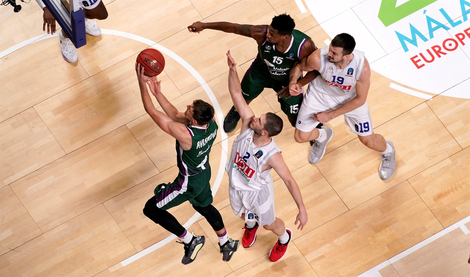 Aleksa Avramovic - Unicaja Malaga (photo Unicaja) - EC19