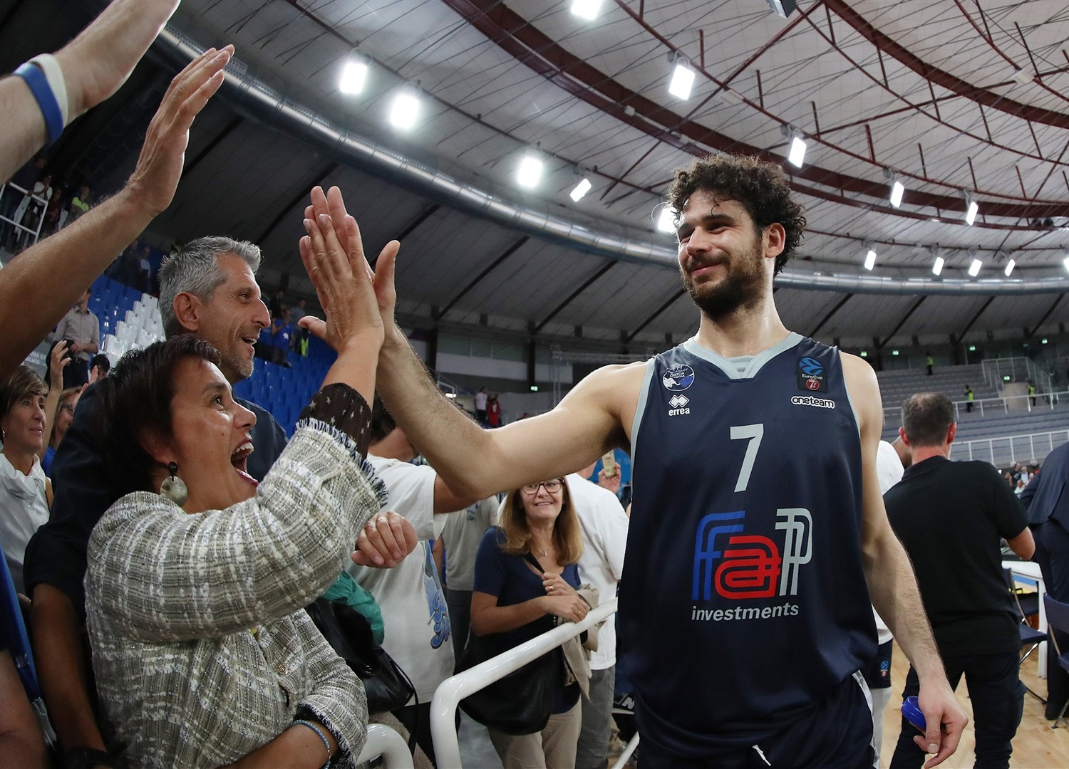 Luca Vitali celebrates - Germani Brescia Leonessa (photo Brescia) - EC19
