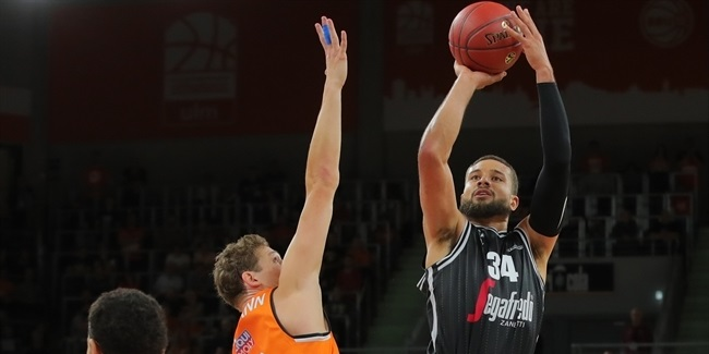 Kyle Weems, Virtus: 'So far so good!'
