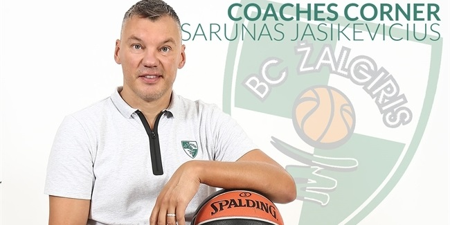 My first EuroLeague game: Sarunas Jasikevicius, Zalgiris Kaunas
