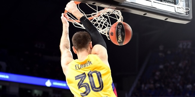 Barcelona: Claver out 4-6 weeks with foot injury
