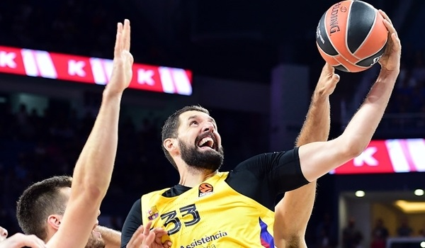 RS01 Report: Mirotic stars as Barca gets revenge vs. Efes