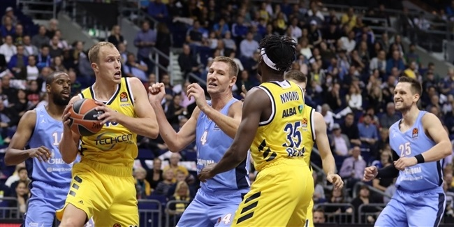 RS Round 1: ALBA Berlin vs. Zenit St Petersburg