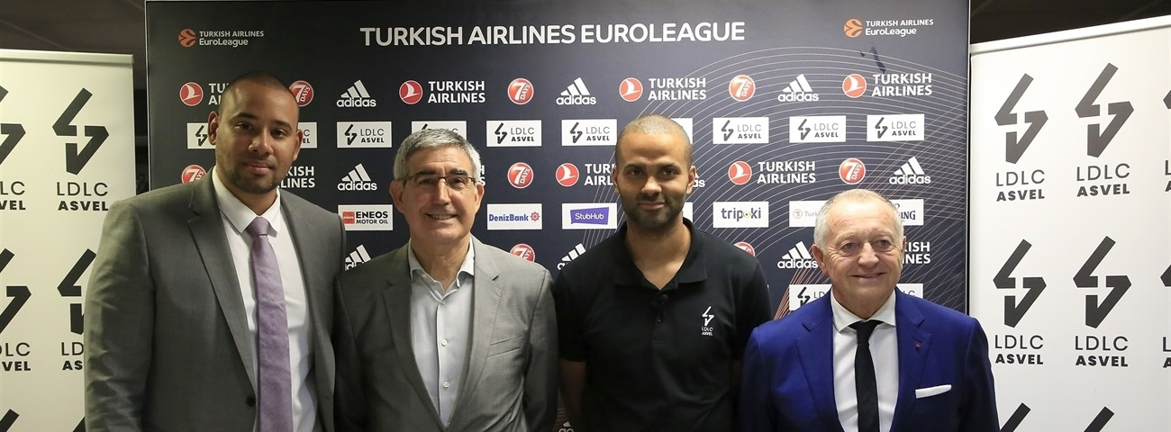 ASVEL celebrates EuroLeague return with press conference