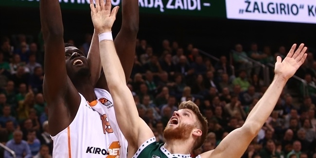 Fall anchored Baskonia's strong defense