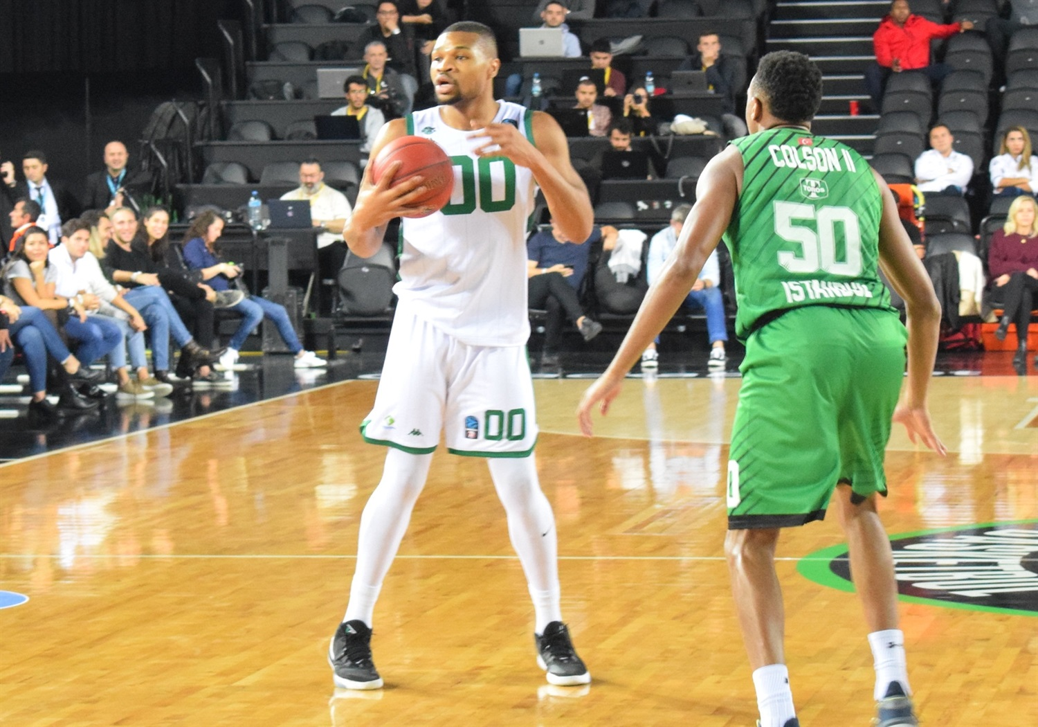 Taylor Smith - Nanterre 92 (photo Darussafaka) - EC19