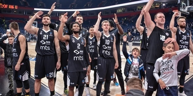 Defense sparked Partizan's victory