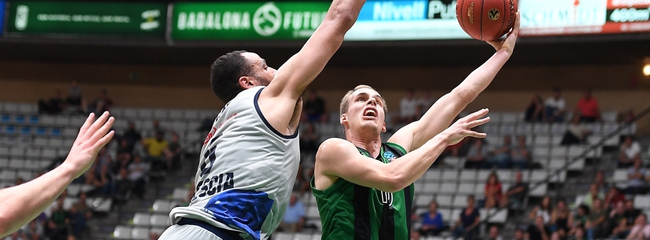 Prepelic stepped up late for Joventut