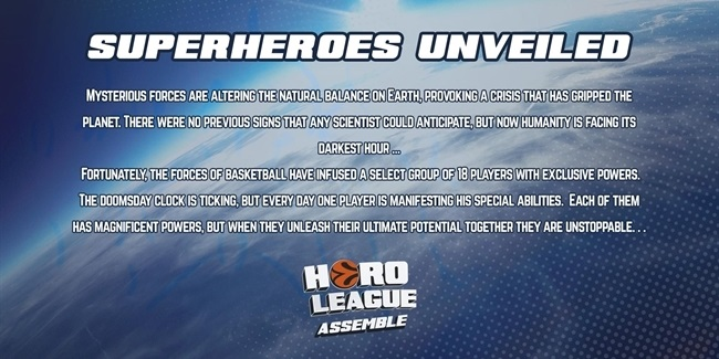 HeroLeague - Superheroes unveiled