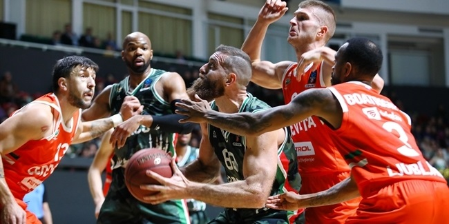 7DAYS EuroCup, Regular Season Round 2: UNICS Kazan vs. Cedevita Olimpija Ljubljana