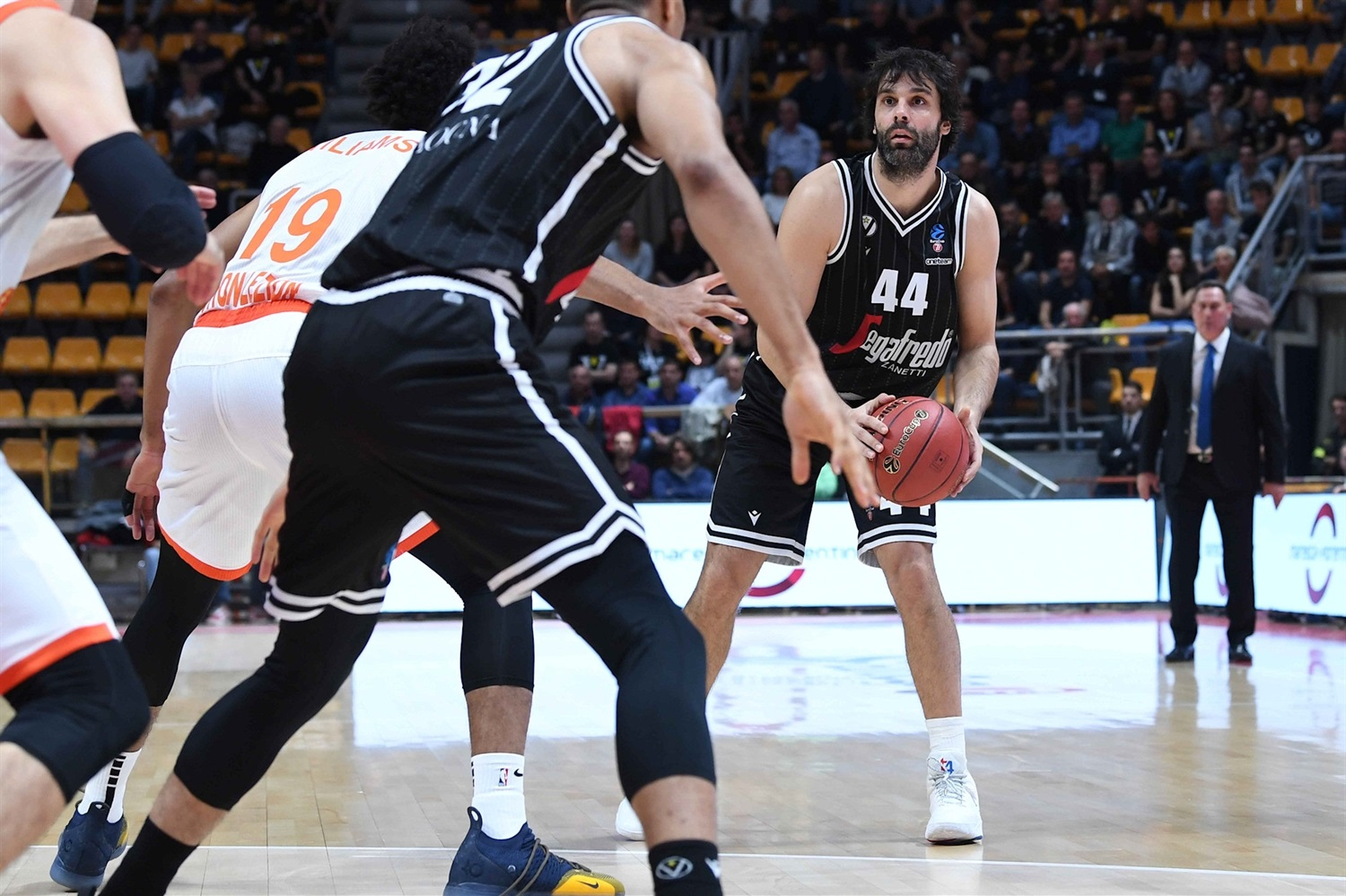 Milos Teodosic - Segafredo Virtus Bologna (photo Virtus) - EC19