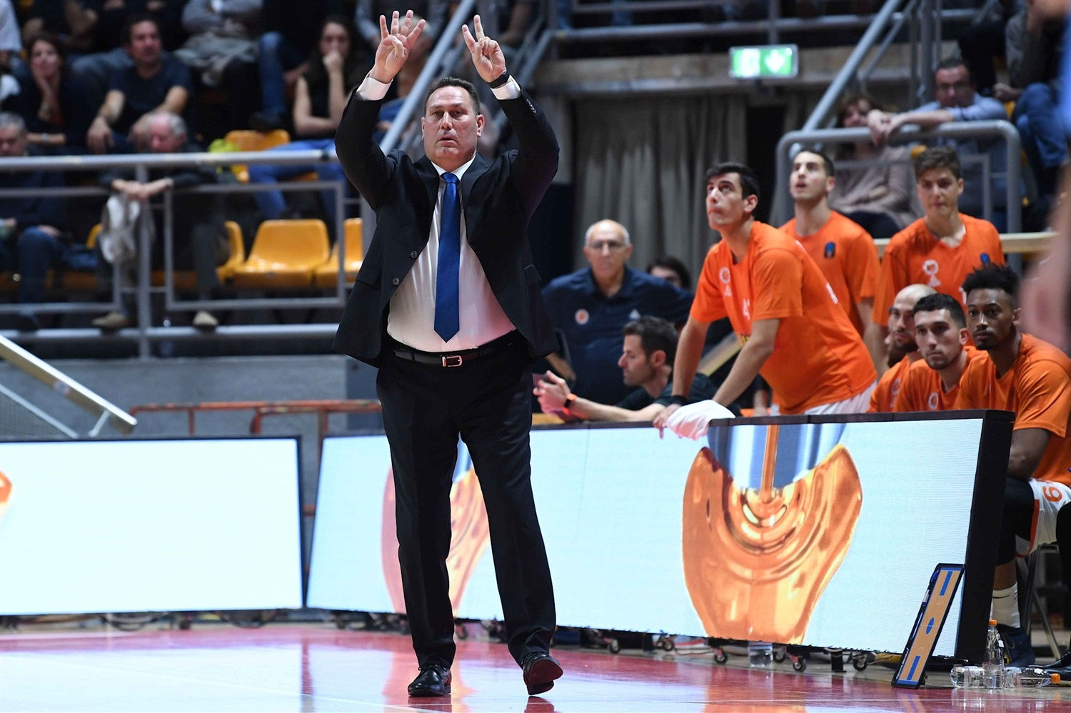 Guy Goodes - Maccabi Rishon Lezion (photo Virtus) - EC19