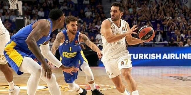 RS Round 2: Real Madrid vs. Maccabi FOX Tel Aviv