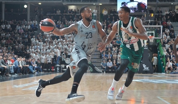 RS02 Report: ASVEL rallies to edge Panathinaikos