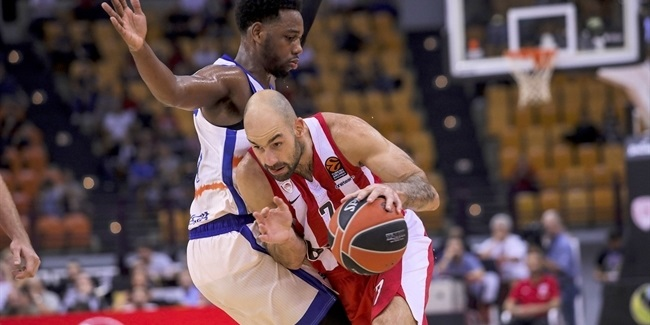 RS Round 2: Olympiacos Piraeus vs. Valencia Basket