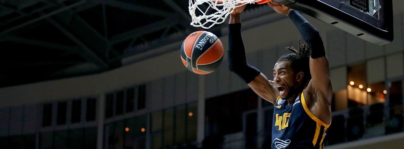 Evans was Khimki's highlight reel