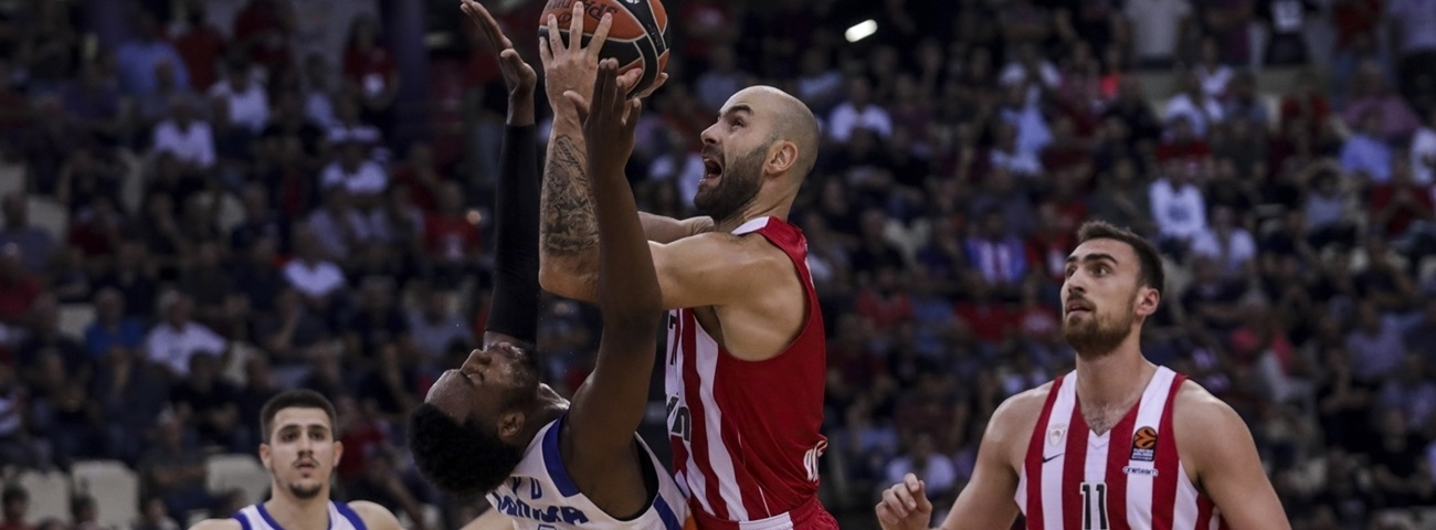 Core four stepped up when Olympiacos needed them most