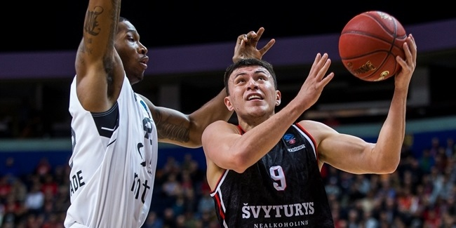 7DAYS EuroCup, Regular Season Round 3: Rytas Vilnius vs. Partizan NIS Belgrade