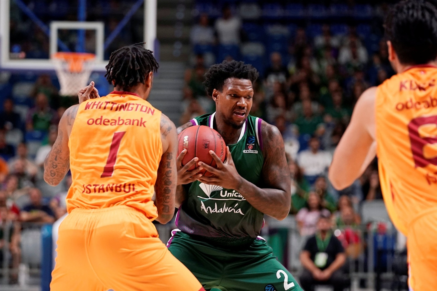 Deon Thompson - Unicaja Malaga (photo Mariano Pozo - Unicaja) EC19