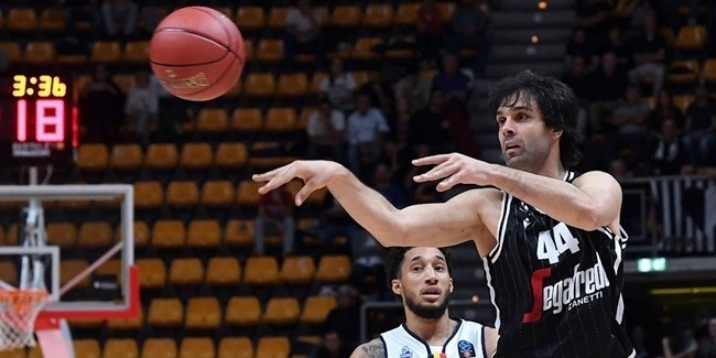 Regular Season MVP: Milos Teodosic, Segafredo Virtus Bologna