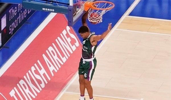 RS03 Report: Toupane leads Unicaja to triumph over Galatasaray