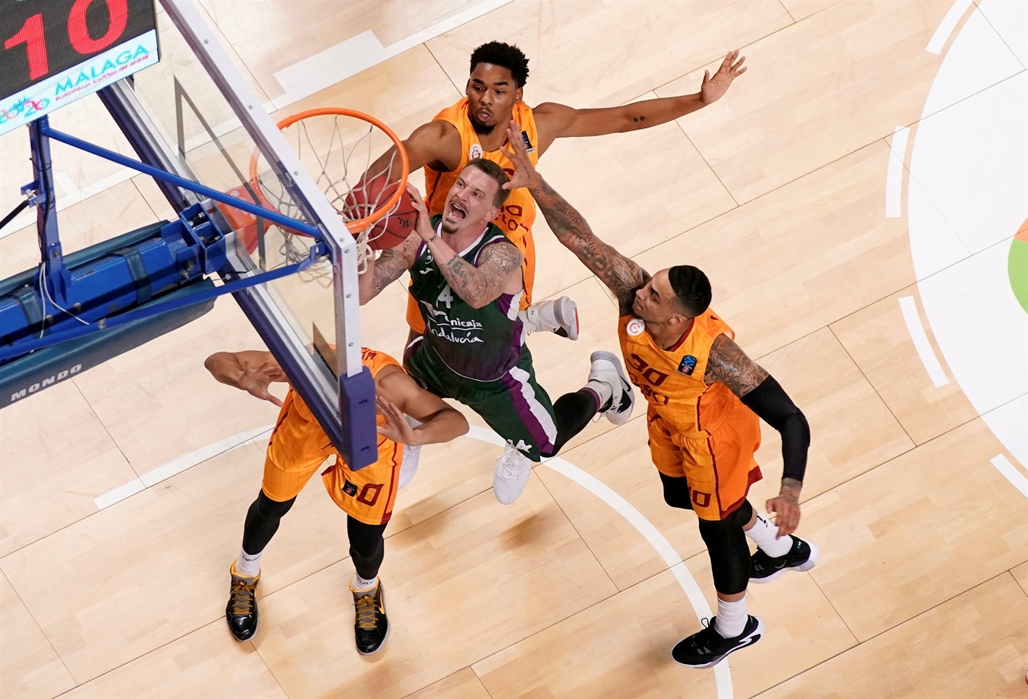 Josh Adams - Unicaja Malaga (photo Mariano Pozo - Unicaja) EC19