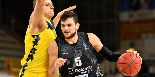 7DAYS EuroCup, Regular Season Round 3: Dolomiti Energia Trento vs. EWE Baskets Oldenburg
