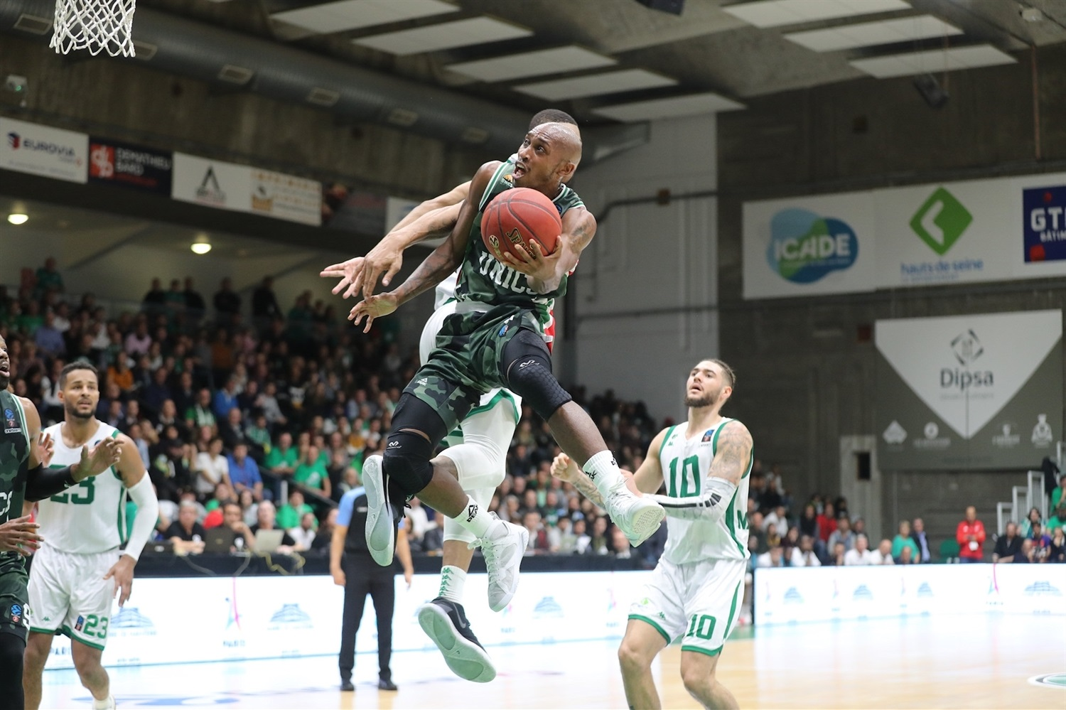 Jamar Smith - UNICS Kazan (photo Nanterre) - EC19