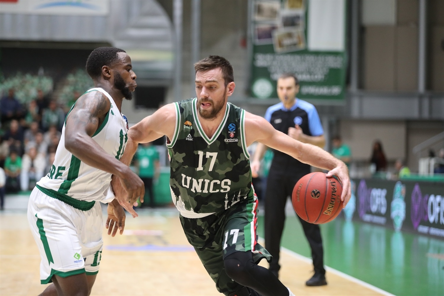 Vangelis Mantzaris - UNICS Kazan (photo Nanterre) - EC19