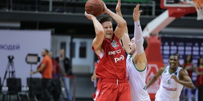7DAYS EuroCup, Regular Season Round 3: Lokomotiv Kuban Krasnodar vs. Limoges CSP